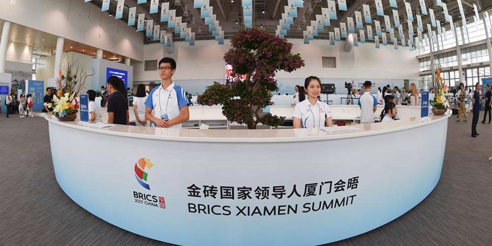 Centro de imprensa para a Cúpula do BRICS entra em operação