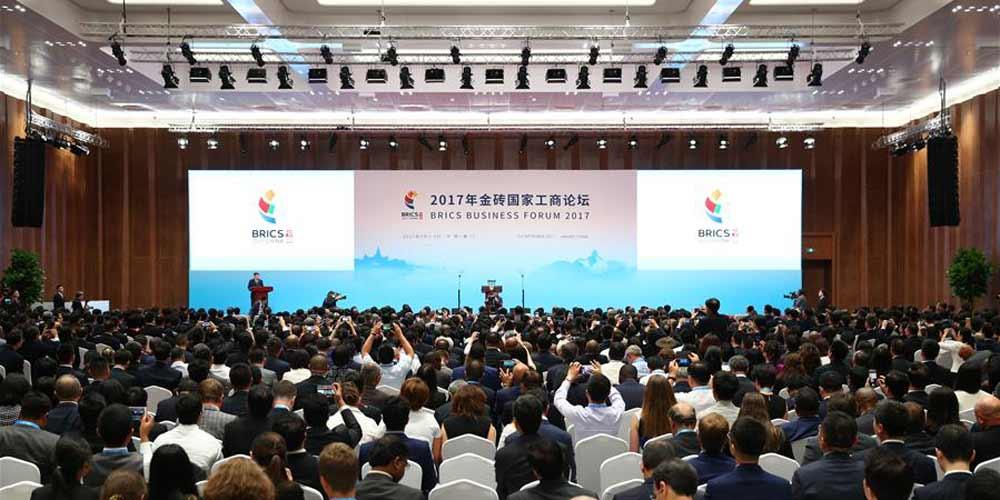 Fórum dos Negócios do BRICS começa em Xiamen