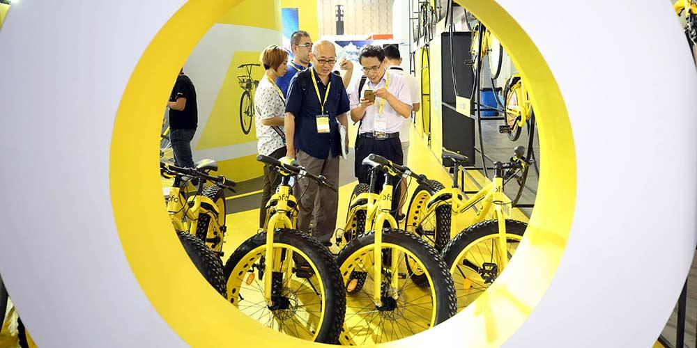 Exposição Asia Bike 2017 inicia em Nanjing