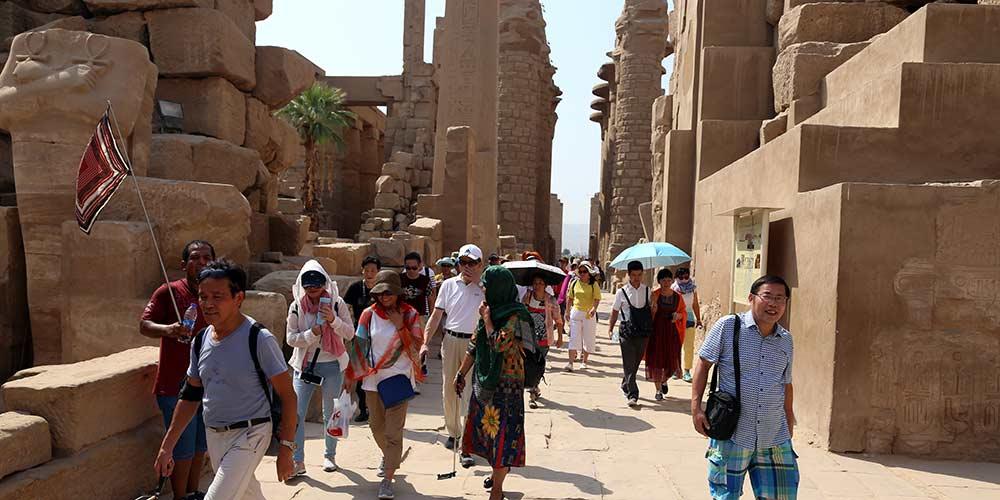 Egito aposta na China para reviver indústria do turismo, diz governador