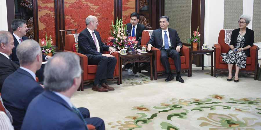Vice-premiê chinês se reúne com delegação dos EUA
