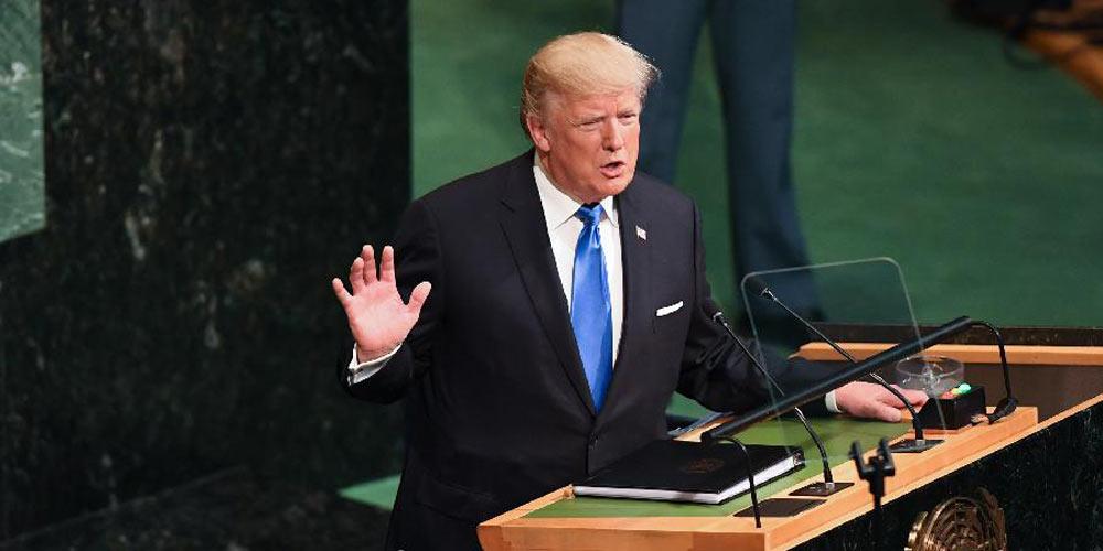 Trump mira RPDC e Irã em seu 1º discurso na ONU