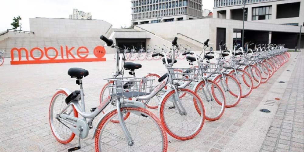Empresa chinesa de compartilhamento de bicicletas entra nos EUA