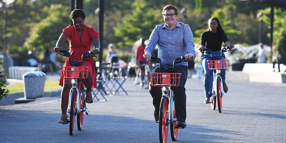 Mobike lança serviço em Washington D.C., Estados Unidos