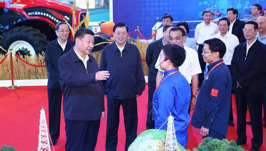 Presidente chinês pede para se bucar com persistência Sonho Chinês de rejuvenescimento  nacional