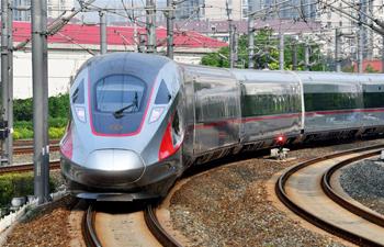 Novos trens de alta velocidade correm em linhas no norte da China