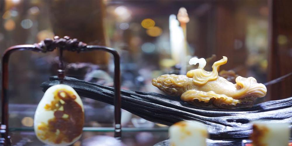 Exposição de artesanato de jade em Suzhou