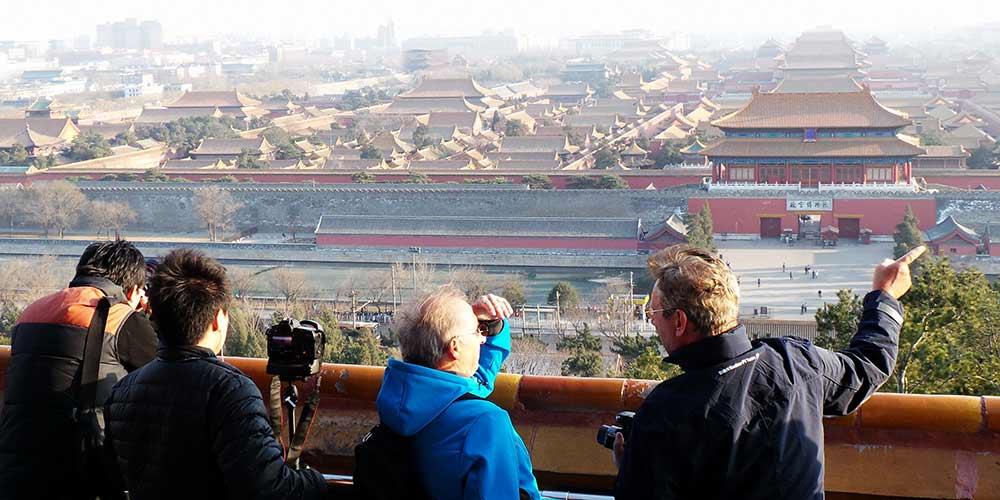 História em imagens: Beijing presencia grandes mudanças nos últimos cinco anos