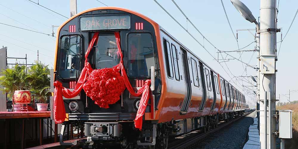 Vagões de metrô de Boston saem da linha de produção na China