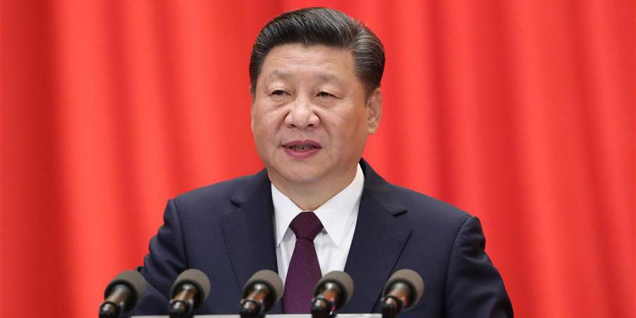Xi Jinping pronuncia relatório no congresso do PCC e destaca socialismo com características  chinesas na nova era