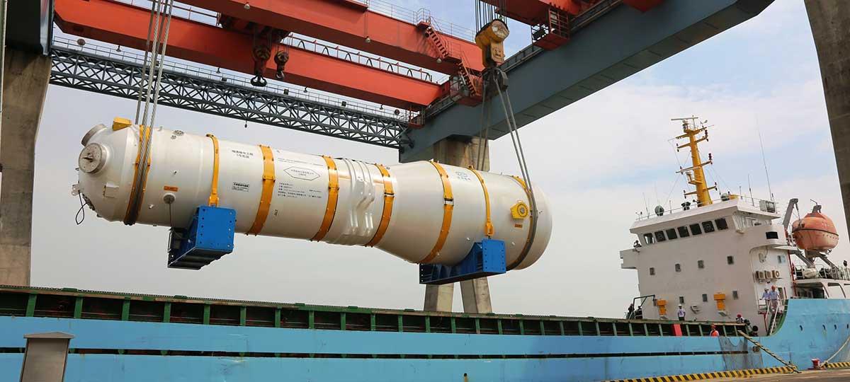 Gerador nacional de vapor será instalado na usina nuclear de Fuqing