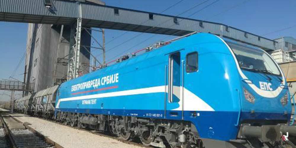 Primeira locomotiva elétrica produzida pela China para Sérvia entra em funcionamento