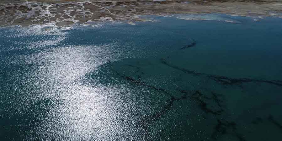 Lago Qinghai, o maior lago de água salgada da China