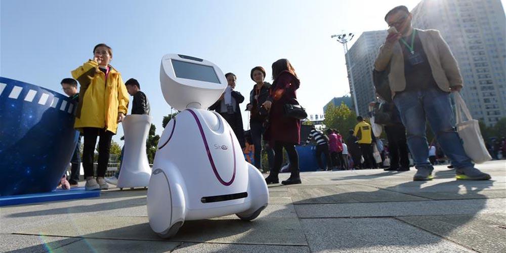 Robô de voz inteligente é destaque no Festival Global Developer da China