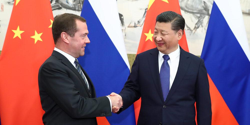 Xi destaca compromisso com boas relações China-Rússia
