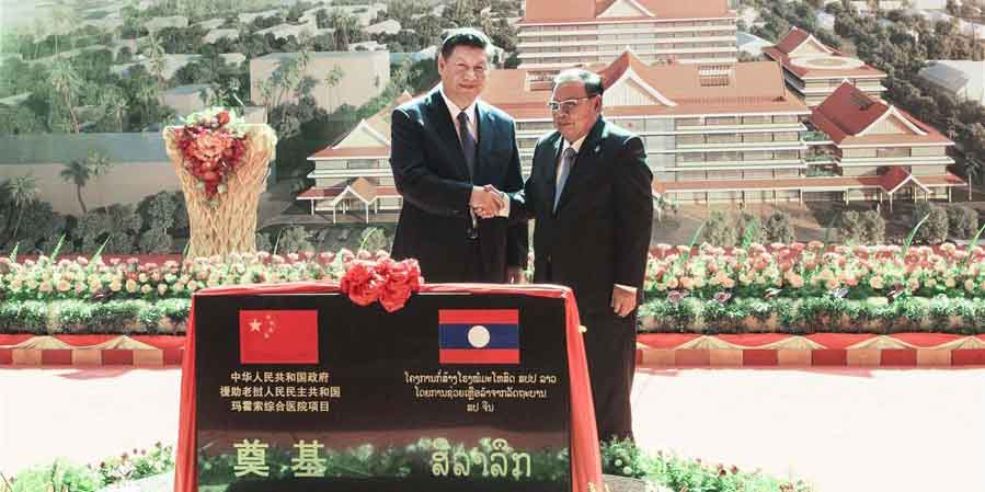 Xi pede maior cooperação China-Laos no bem estar público