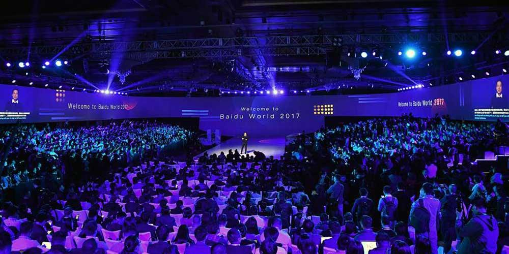 Baidu apresenta novos produtos em conferência em Beijing