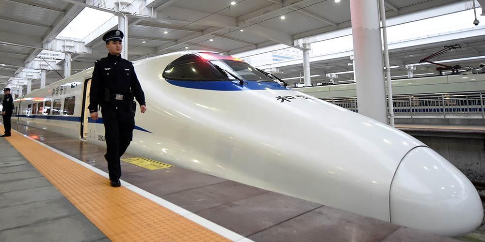 Trens-bala ligando Xi'an e Chongqing iniciam operações