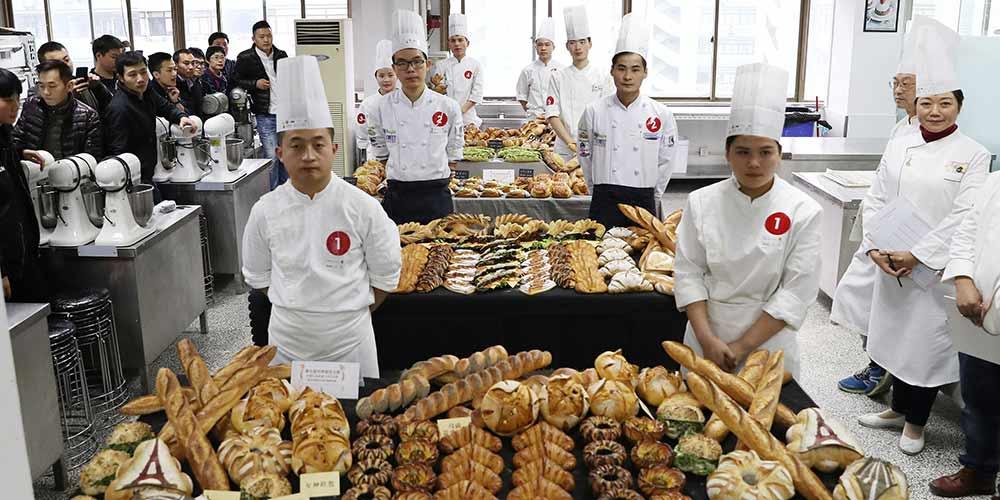 Etapa de qualificação para o 7ª Campeonato Mundial do Pão em Shanghai