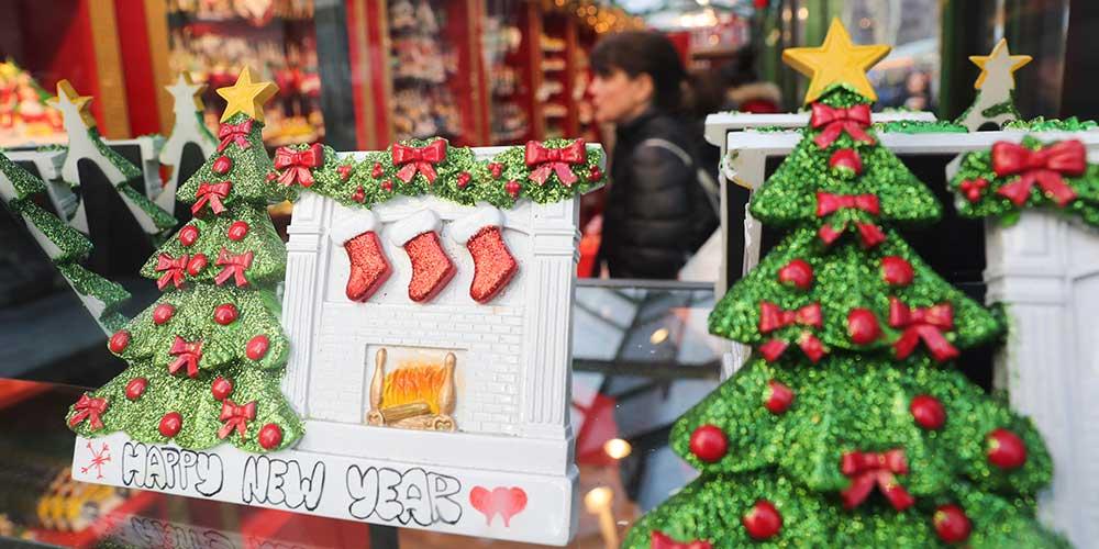 Mercados de férias são opção de compras e lazer em Nova York