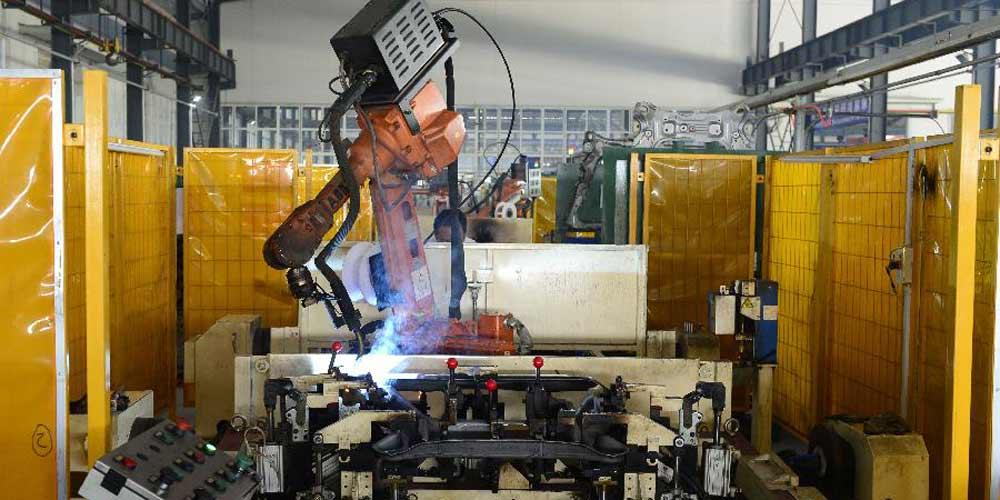 China produz mais de 100 mil robôs industriais entre janeiro e outubro