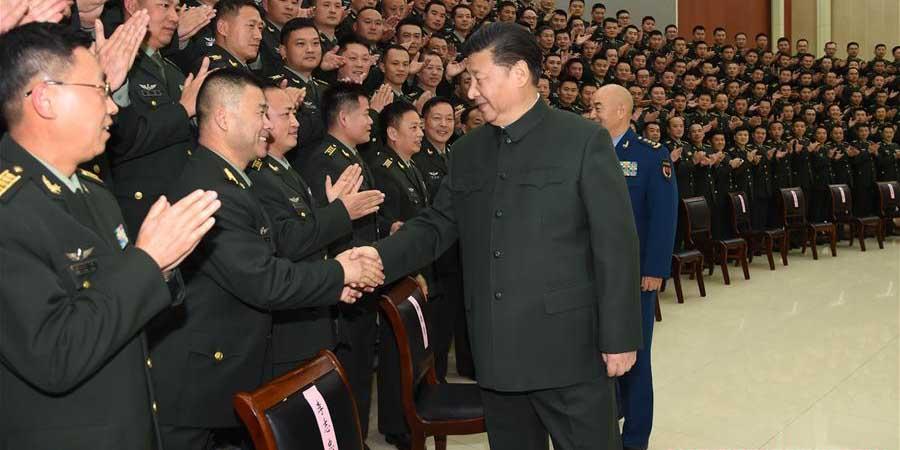 Xi enfatiza reestruturação do exército para promover prontidão de combate