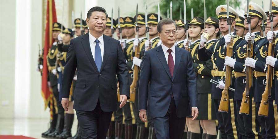 China e República da Coreia concordam em impulsionar relações por via adequada