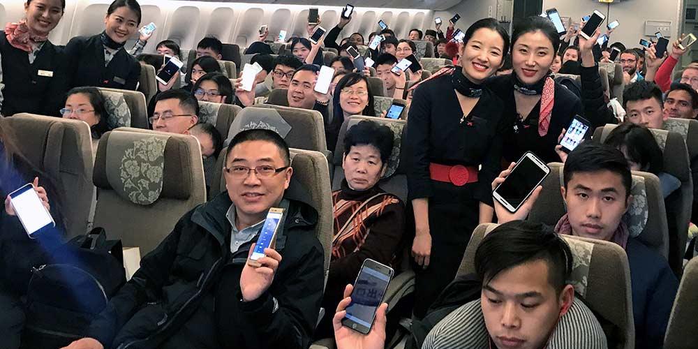 Companhias aéreas chinesas permitem uso de celular e WiFi