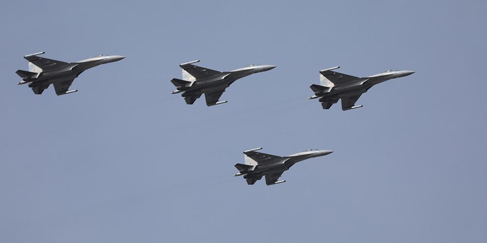 China envia caças Su-35 para patrulhar Mar do Sul da China