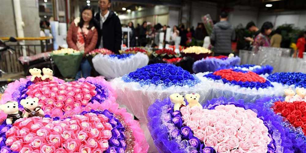 Empresas de flores de Yunnan têm valor de produção anual de 40 milhões de yuans