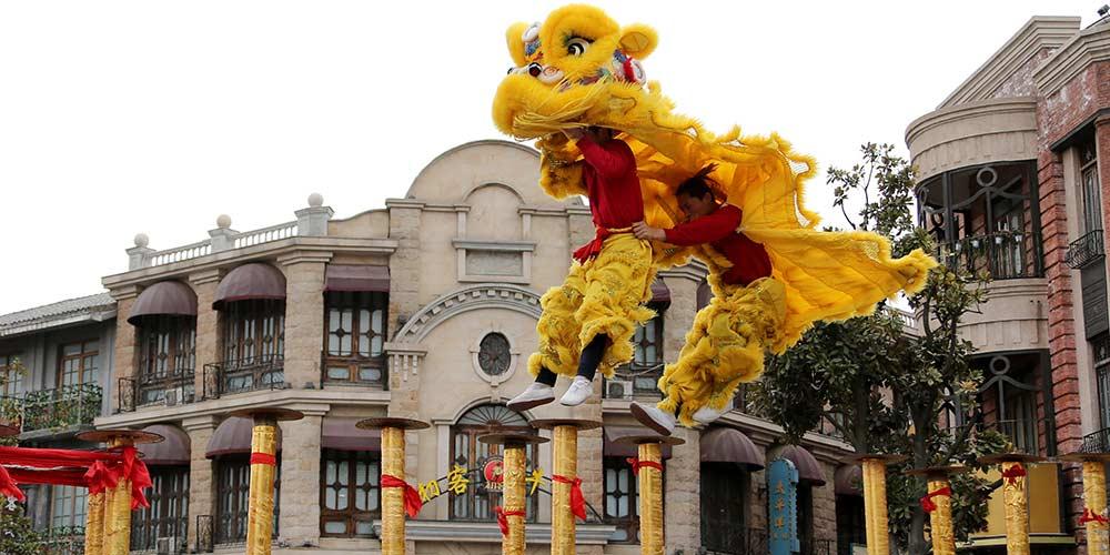 Celebrações do Ano Novo ao redor da China