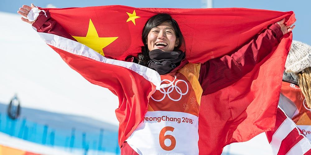 Liu Jiayu conquista primeira medalha da China nos Jogos de PyeongChang