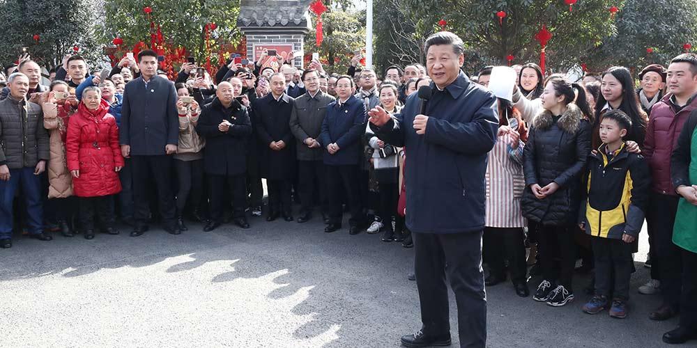 """""""Tenho como trabalho servir o povo"""", diz presidente chinês"""