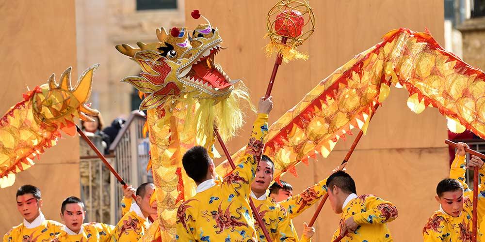 Trupe da Ópera Wu de Zhejiang se apresenta em Malta para celebrar Ano Novo lunar chinês