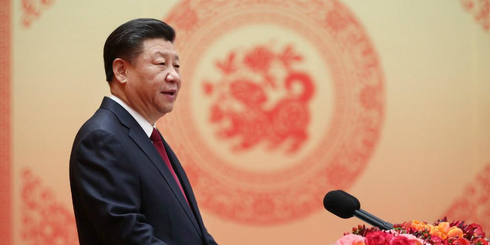 Líderes chineses estendem cumprimentos pela Festa da Primavera