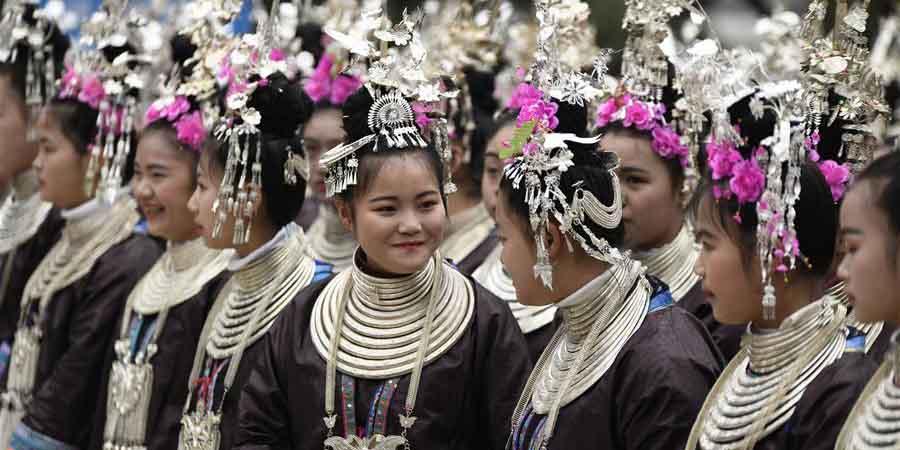 Em Imagens: Duoye, celebração tradicional do grupo étnico Dong