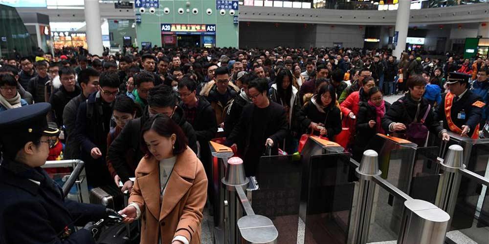 China têm pico de viagens no último dia do Festival da Primavera