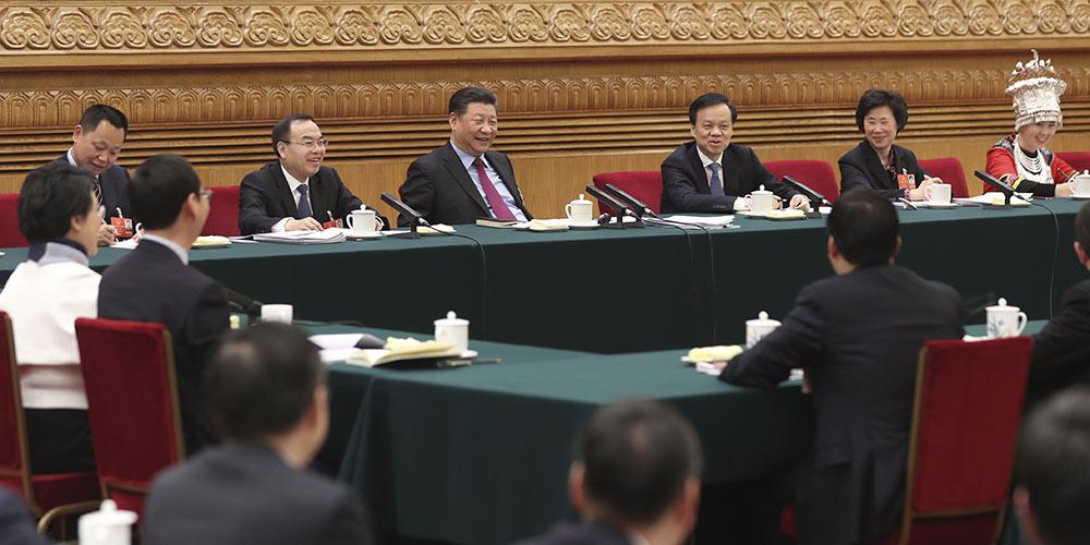 Presidente chinês destaca ecologia política limpa e reta