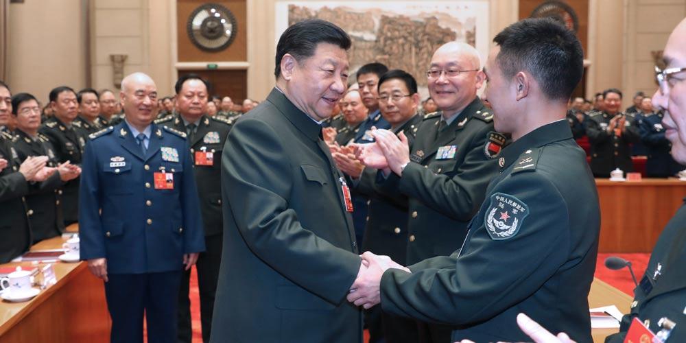 Xi assinala aprofundamento na integração militar-civil para realizar sonho chinês