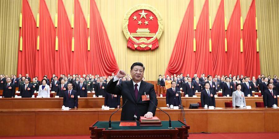 Xi Jinping é eleito por unanimidade presidente da China e da CMC