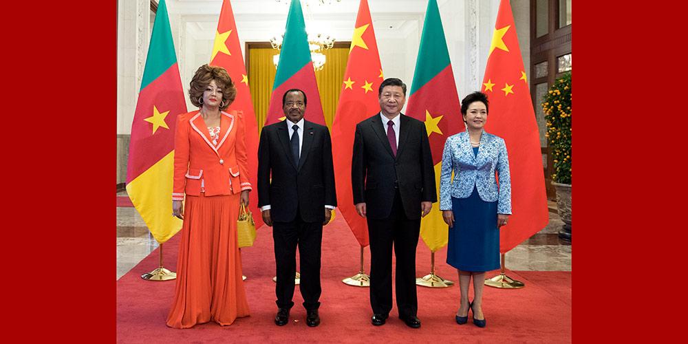 China e Camarões concordam em promover relações bilaterais