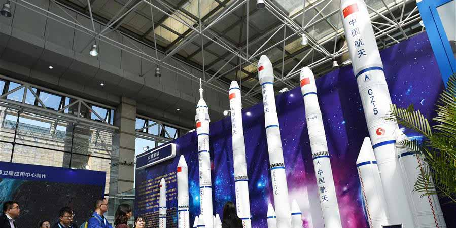 Evento no Instituto de Tecnologia de Harbin marca o Dia Espacial da China
