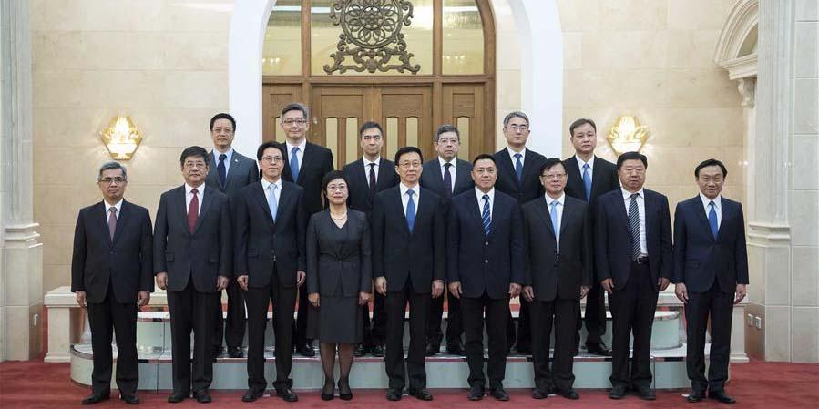 Vice-premiê chinês se reúne com funcionários de Macau