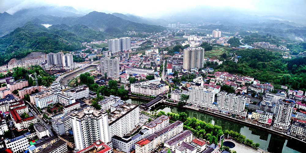 Hanzhong se recupera de terremoto e apresenta novo visual