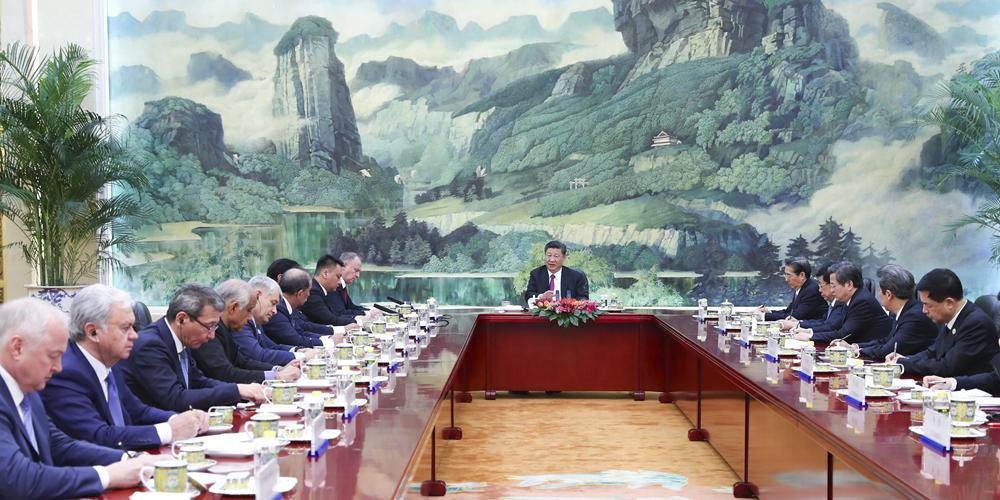 Presidente chinês pede maior cooperação em segurança da OCS
