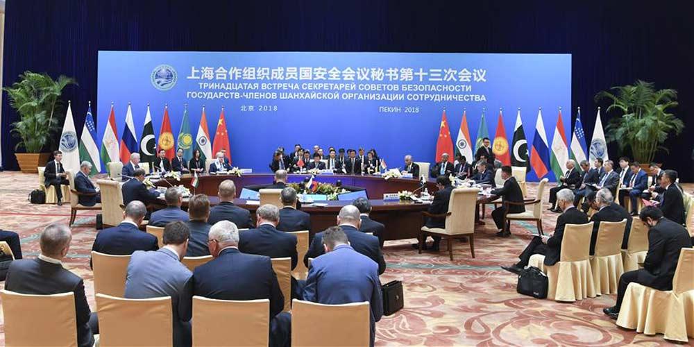 Países da Organização de Cooperação de Shanghai prometem fortalecer confiança política e proteger estabilidade de desenvolvimento