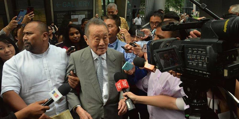Magnata Robert Kuok retorna à Malásia para reunião do conselho consultivo