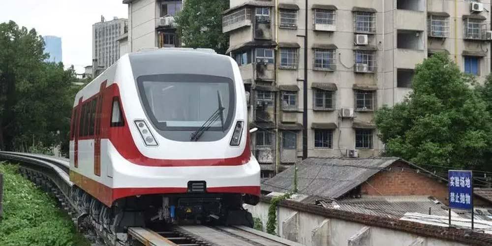 Protótipo do trem maglev chinês de 160 km/h completa teste bem sucedido