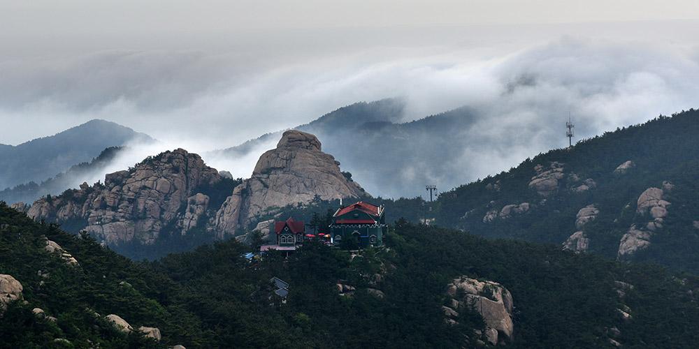 Paisagens da Montanha Laoshan em Qingdao
