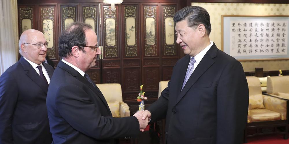 Xi diz ter plena confiança em laços China-França